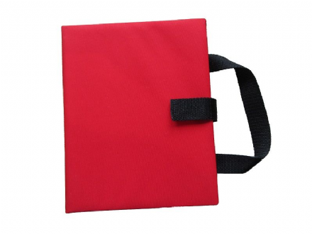 Communication Book A5 - Rigid Covers - Red